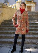 пальто на молнии