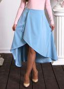 Красивая юбка с асимметричным подолом